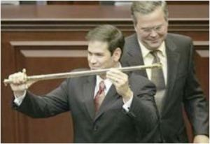 Bush and Rubio
