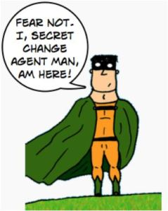 Change Agent Man