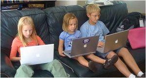 Gates kids
