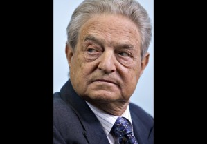 George Soros, chairman and founder of Soros Fund Management