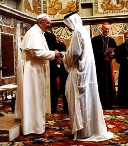 Pope and Muslims