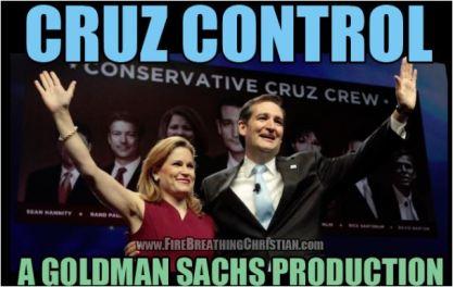 Cruz Control Goldman Sachs