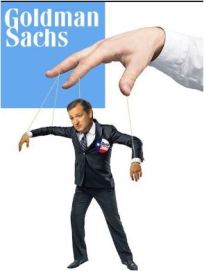 Goldman Sachs and Cruz