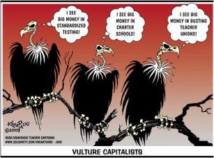 Charter school vultures