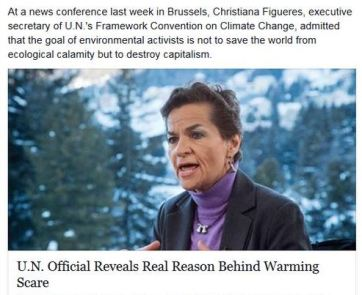 Climate Change lie